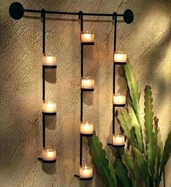 Extra Large Wall Sconces For Candles Candle Wall Decor Candle
