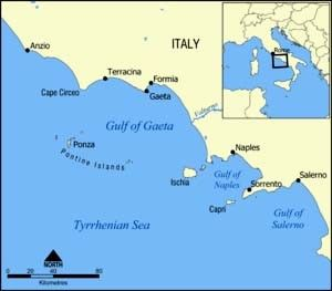 ISOLE PONTINE Ponza – Palmarola – Zannone Italia