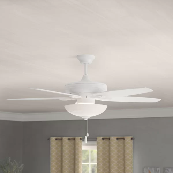 52 Millfield 5 Blade Led Standard Ceiling Fan With Pull Chain And Light Kit Included In 2020 Ceiling Fan Ceiling Led Ceiling Fan