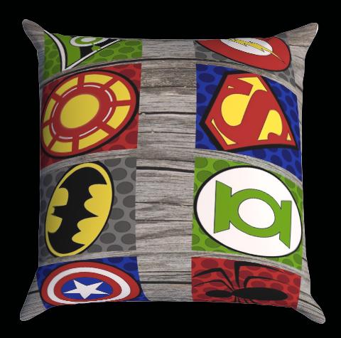 Pop Art Superhero X1156 Zippered Pillows Covers 16x16, 18x18, 20x20 Inches