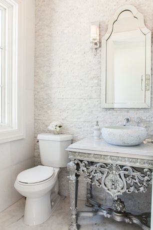 Fresh Powder Room Wall Cabinet