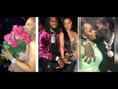 offset surprises cardi b with flowers and wedding ring comp of the week
