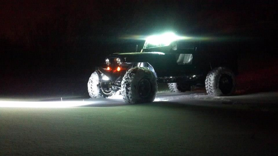 Jeep led light kit i want pinterest jeeps led light jeep led light kit i want aloadofball Image collections