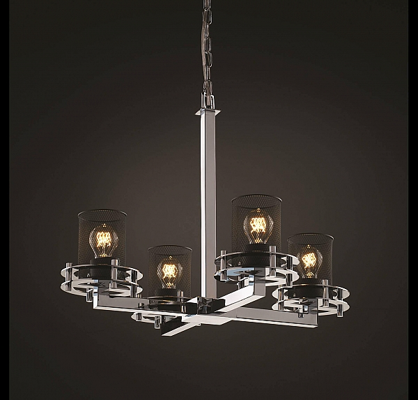 Justice Design Circa 4 Light Chandelier in Chrome See all popular