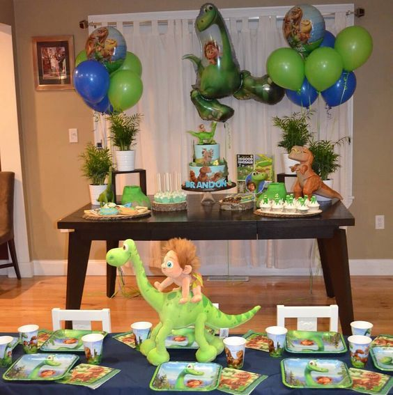 Decoraci n de dinosaurios para cumplea os fiestas for Decoracion de cumpleanos adultos