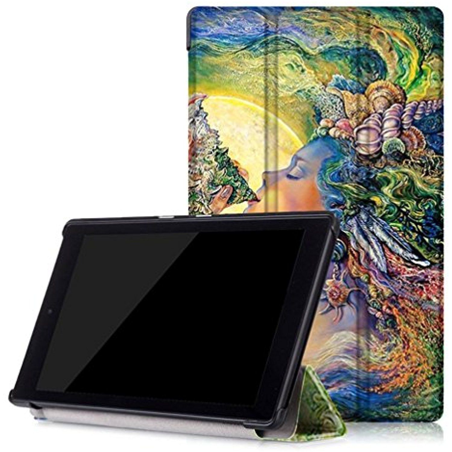 For Kindle Fire HD Case, HP95(TM) Fashion Leather Shell