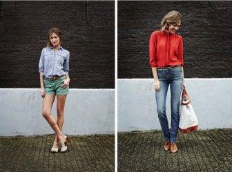 İki farklı stil iki farklı şıklık