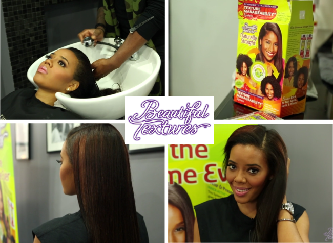 Angela Simmons Shows Off Her Long Natural Hair As The New Brand