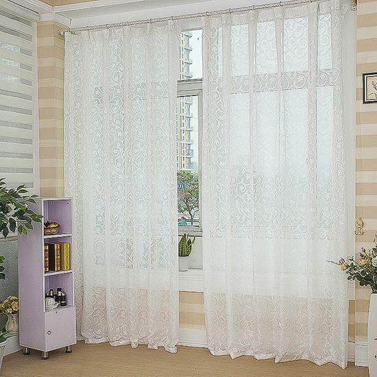 Cortinas blancas para salas para m s informaci n ingresa for Cortinas blancas
