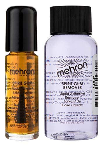 Mehron Makeup Spirit Gum and Spirit Gum Remover Combo set (.125 oz)