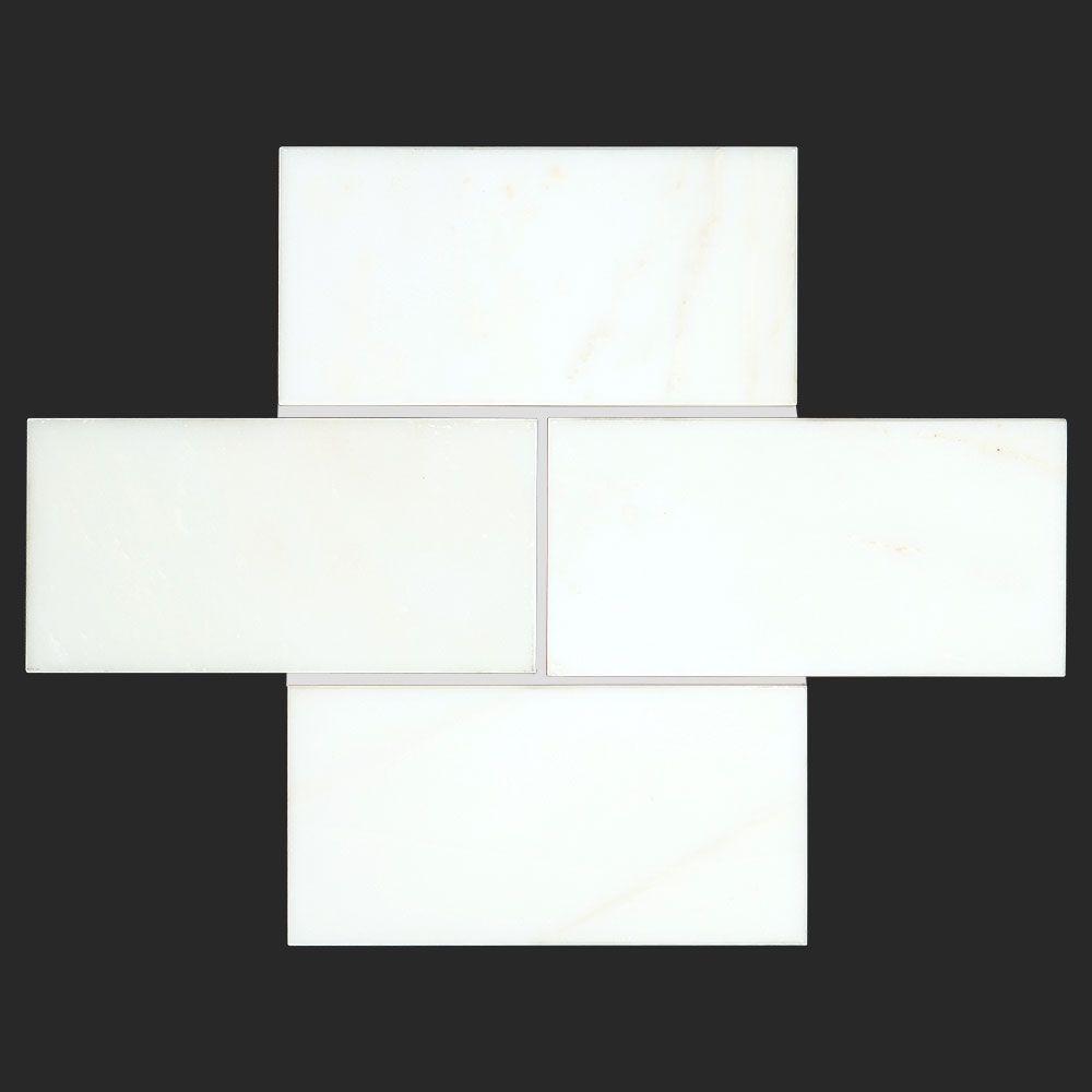 Alya Stone Tile- Calacatta Golden Marble 3x6 Polished Tile