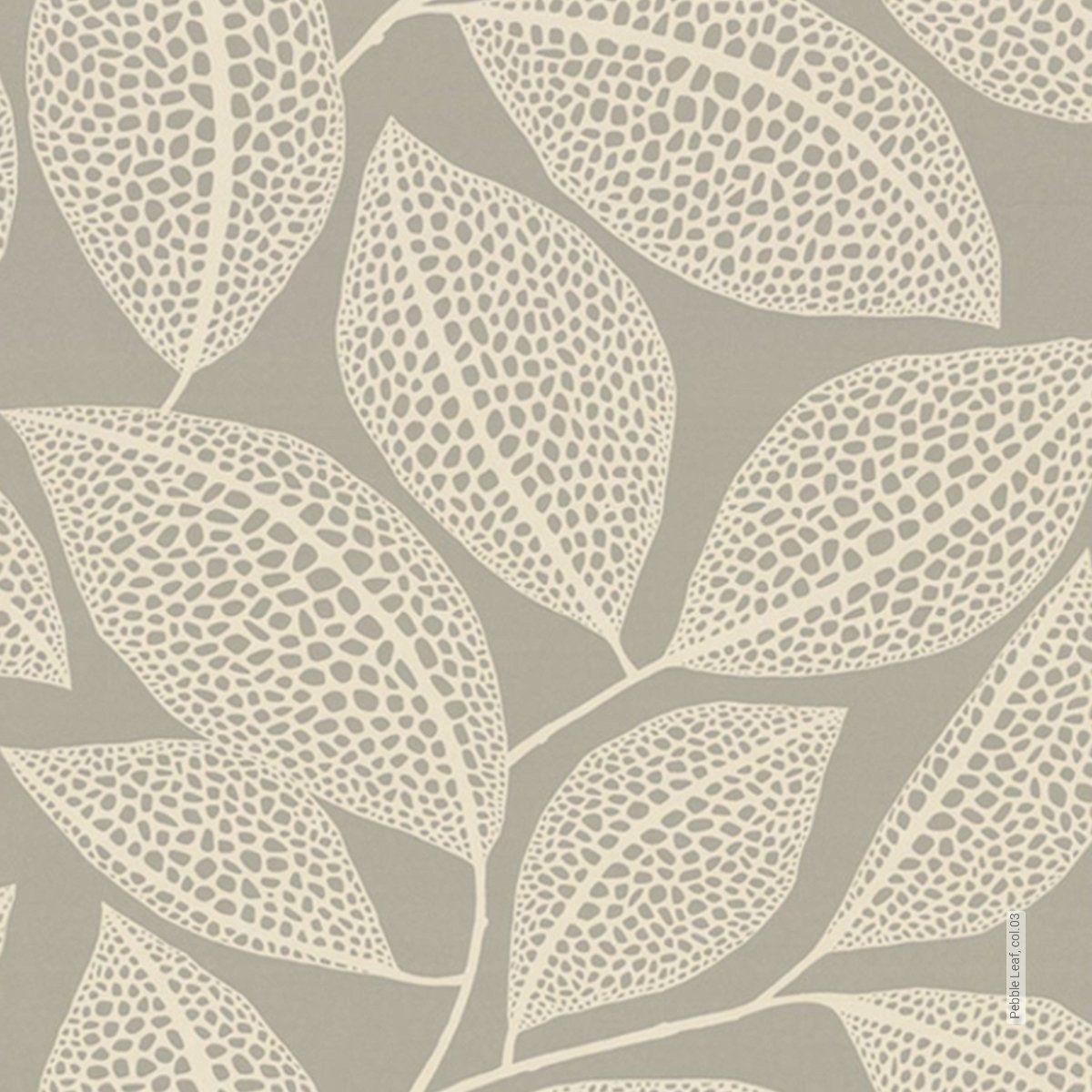 Tapete Pebble Leaf Col 03 Die Tapetenagentur Aus Den Kollektionen Florale Muster Moderne Muster Florale Muster Blatter Tapeten Tapeten Tapeten Floral