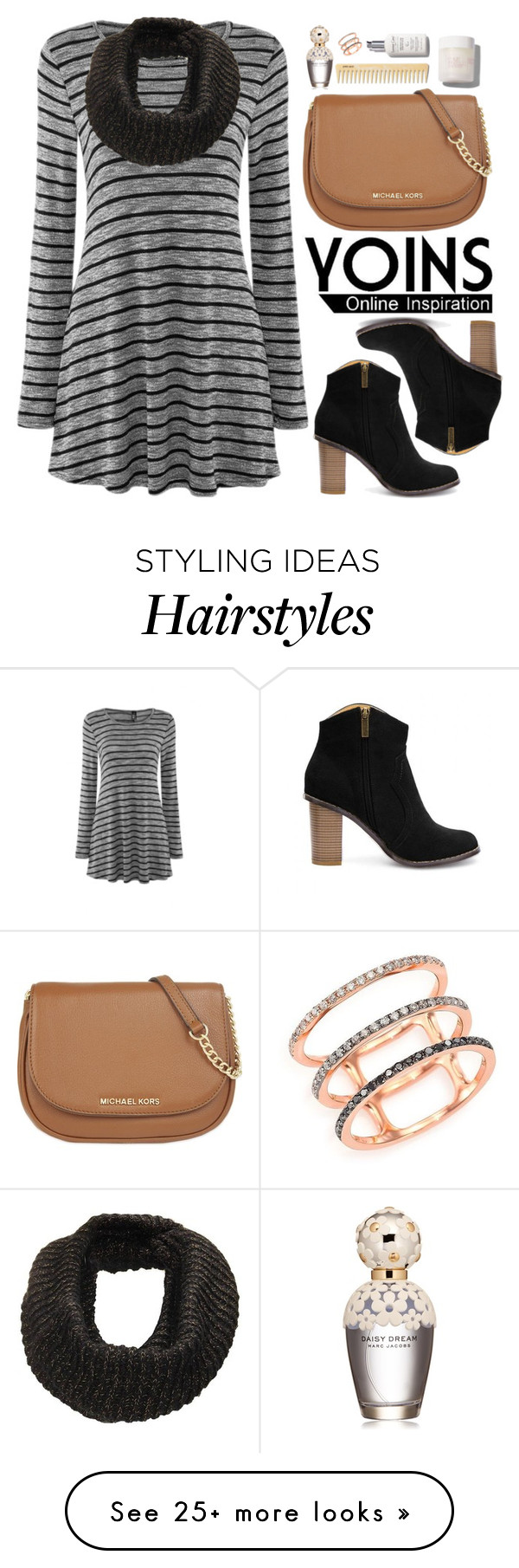 """""""Yoins.com"""" by oshint on Polyvore featuring MICHAEL Michael Kors, EF Collection, Marc Jacobs and yoins"""