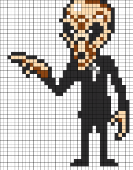 Doctor Who the Silence | Perlier/Pony bead patterns