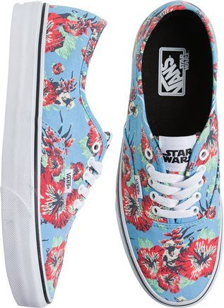 9f1c825ecd6893 Vans Sneakers · Shoe Boots · Lightweight and flexible canvas upper. All  over floral and Yoda print for Star Wars theme