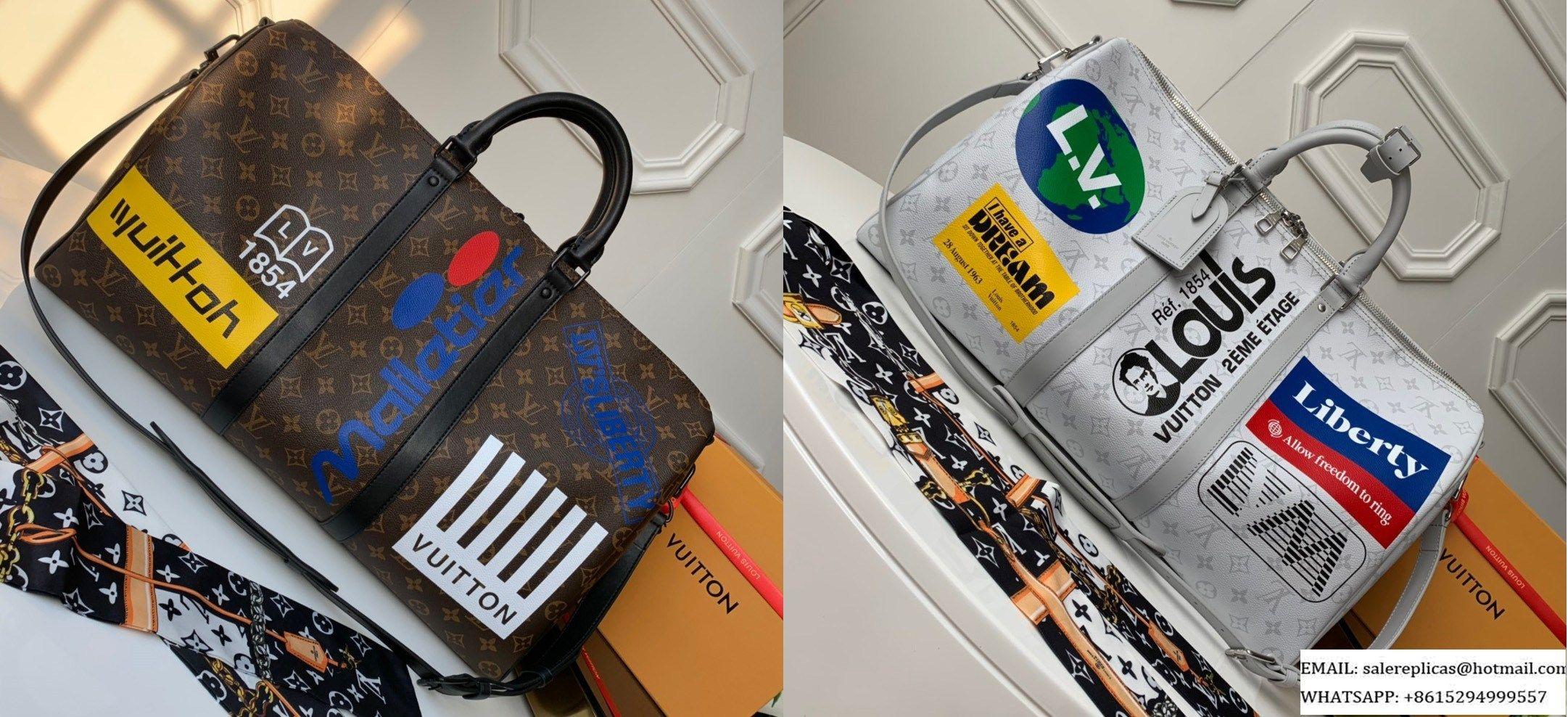 c78bb80c LOUIS VUITTON KEEPALL BANDOULIÈRE 50 BAG M44642 M44643 — | Luxury ...