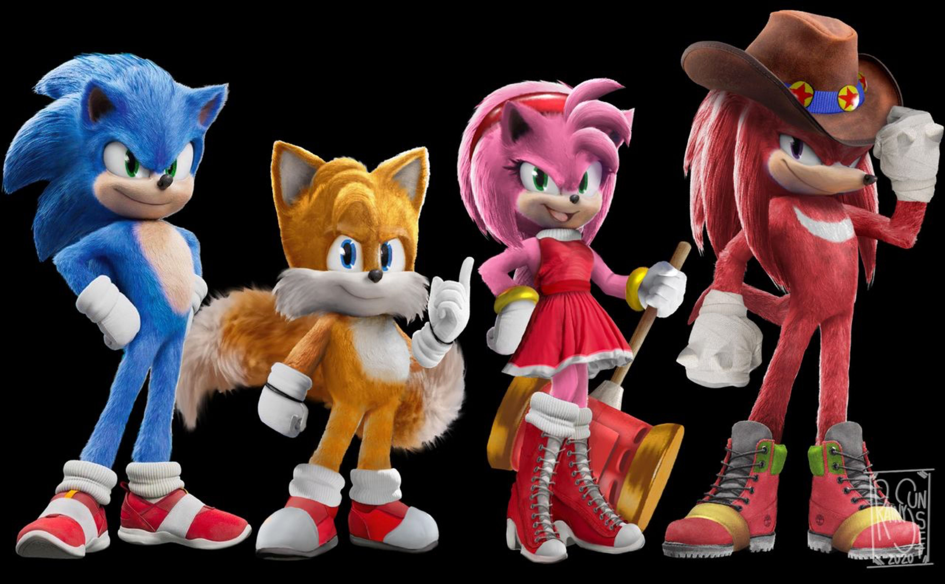 Sonic 20 Movie Team Sonic Paramount by Starry200 on DeviantArt ...
