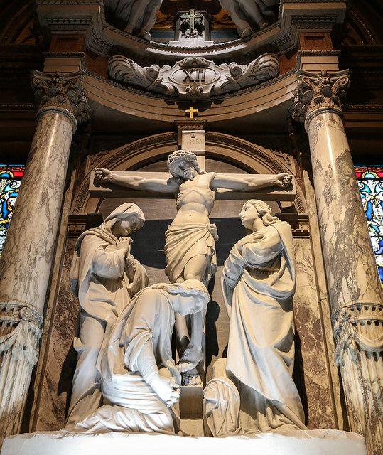 "rockchickana: ""Via Crucis XII - Jesus Dies on the Cross by Lawrence OP on Flickr. """