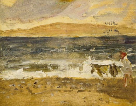 By the Sea, painting by James Wilson Morrice