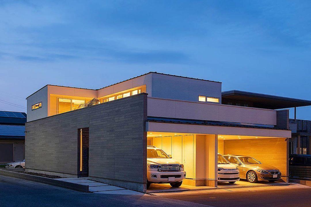 ガレージ おしゃれまとめの人気アイデア Pinterest Fj Ym 2020 ガレージハウス モダンハウス 建築デザイン