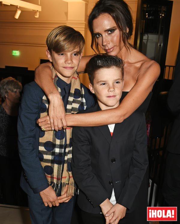 Victoria Beckham, una madre orgullosa de la última aventura de su hijo Romeo