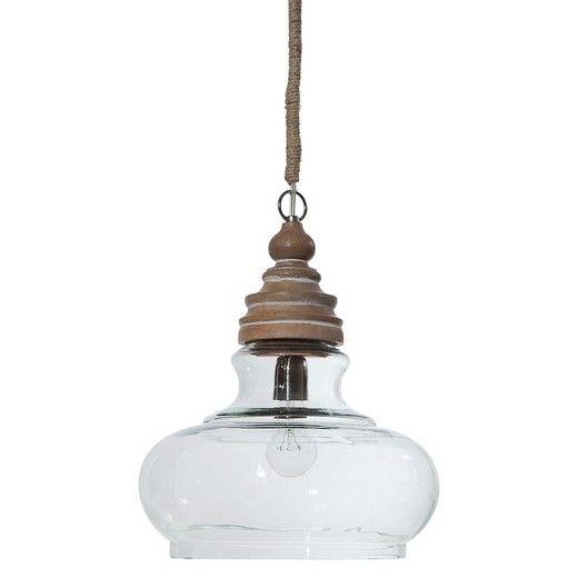 Adjustable wood pendant lamp target