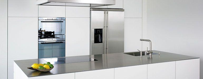 4mm Edelstahl massiv Küche Pinterest Edelstahl arbeitsplatte - küche mit edelstahl arbeitsplatte
