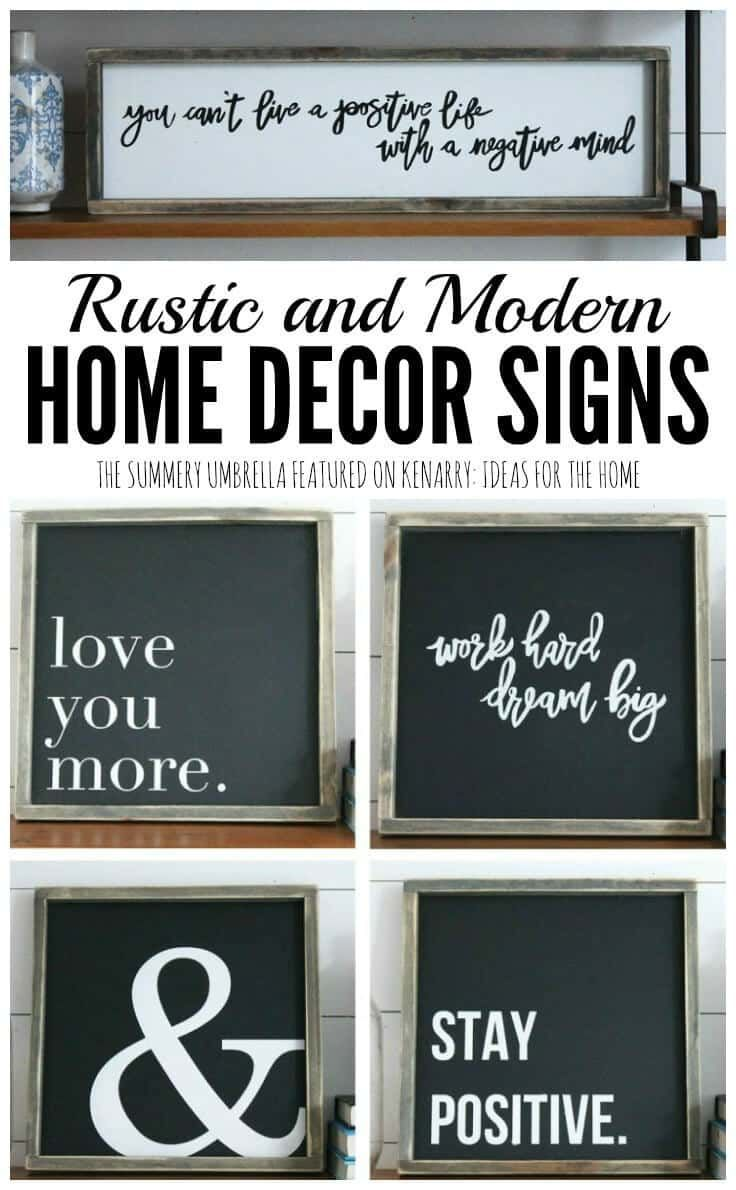 Rustic And Modern Home Decor Signs Giveaway Fixer Upper Hgtv