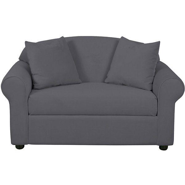 Dream Twin Sleeper Chair JCPenney - white sofa sleeper