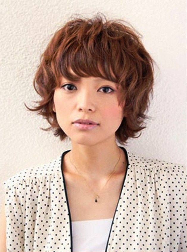 Short Curly Japanese Hairstyles In 2019 Cute Hairstyles