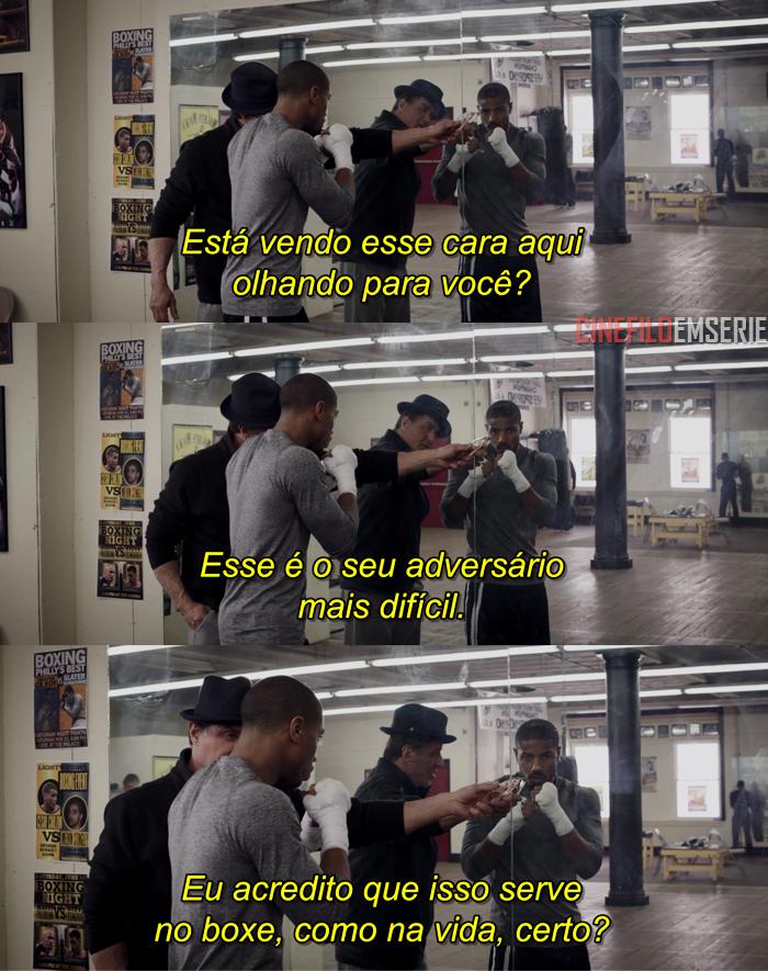 Creed Nascido Para Lutar 2015 Frases De Filmes Filme