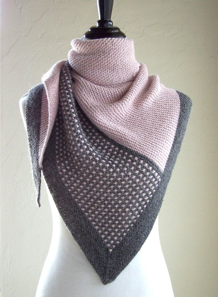 Pink Graphite Knitting pattern by Melanie Rice