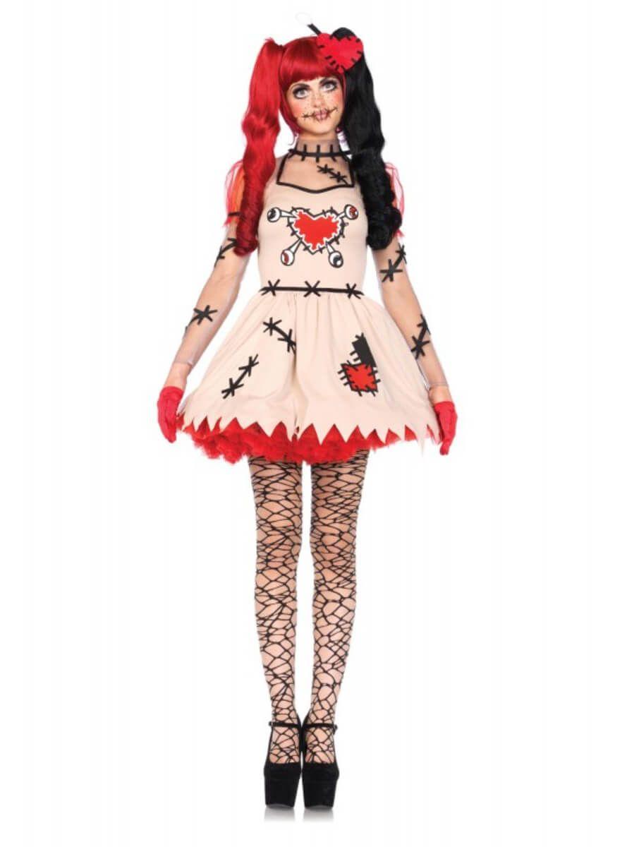 Disfraz mueca de vud clsica para mujer Pinterest Disfraces de