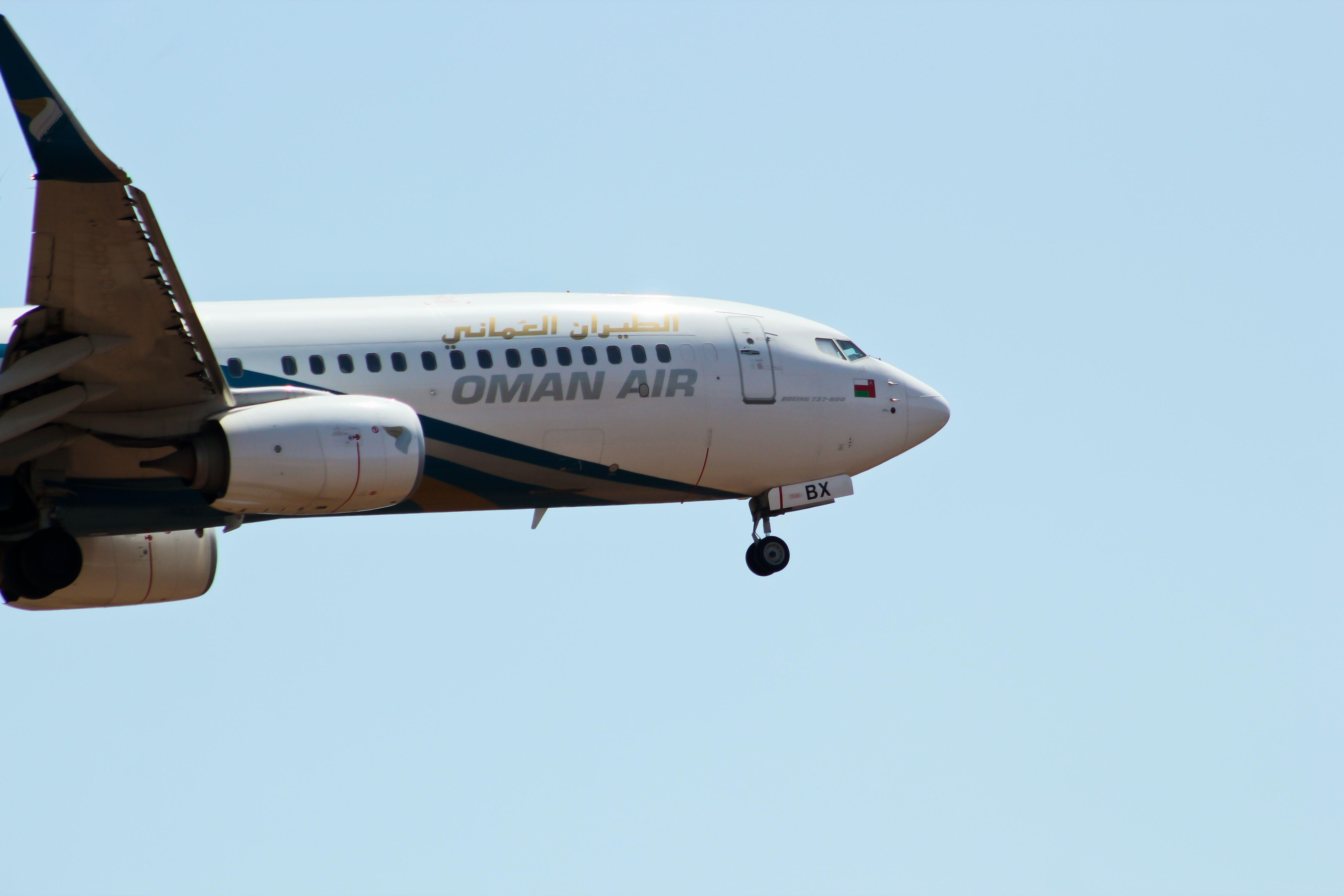 Oman Air Boeing 737800 Boeing 737, Boeing, Passenger jet
