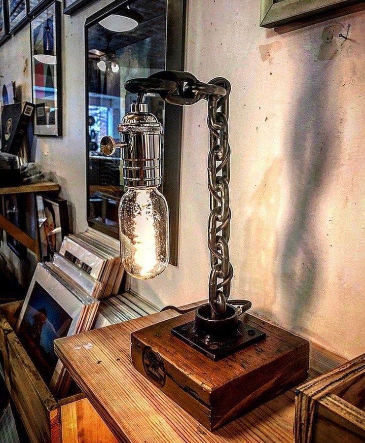 Edison Desk Lamp Industrial Lighting Rustic Farmhouse Lamp
