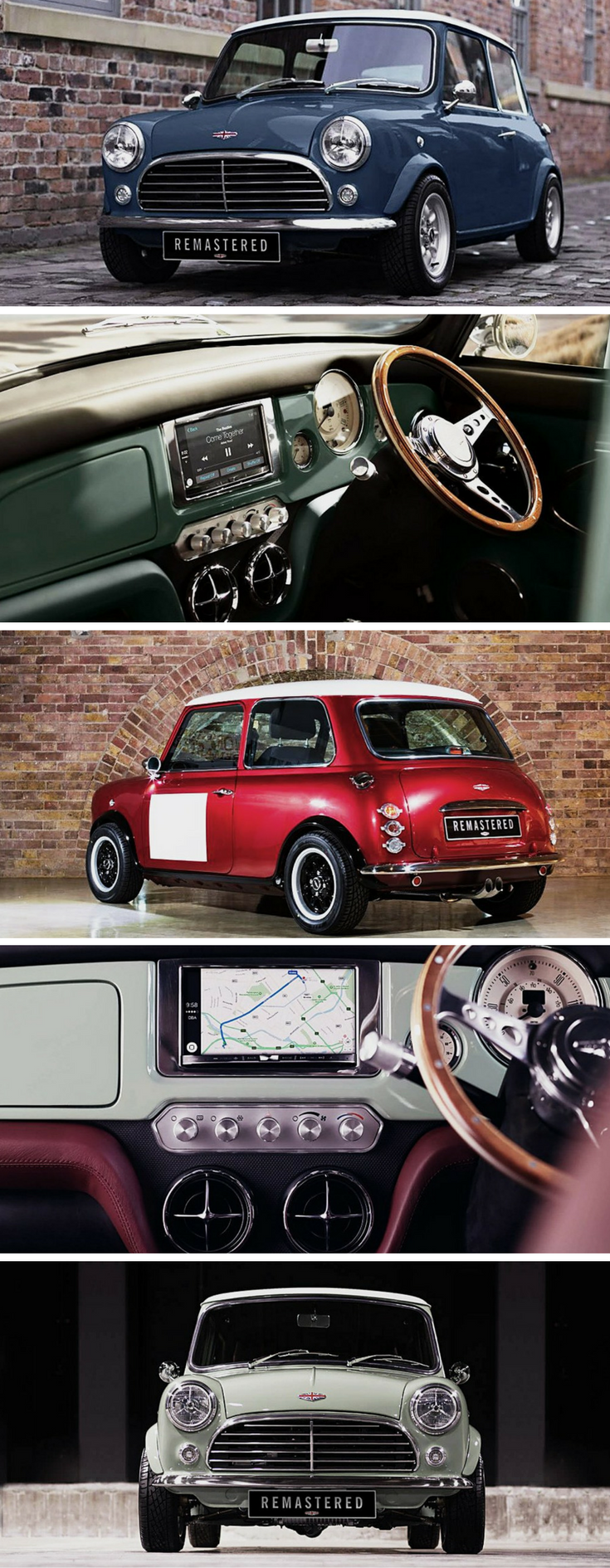 David Brown Automotive Remastered The Classic Mark I Mini Mini