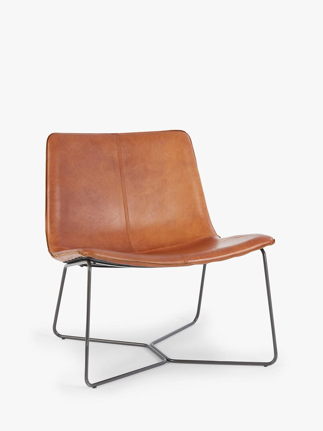 Groovy West Elm Slope Lounge Chair Saddle Leather In 2019 Dailytribune Chair Design For Home Dailytribuneorg