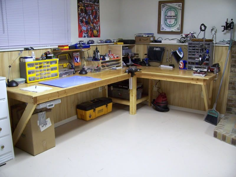 custom workbench workbenchs workshops pinterest