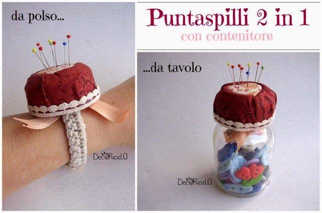 decoriciclo: Puntaspilli 2in1, con contenitore