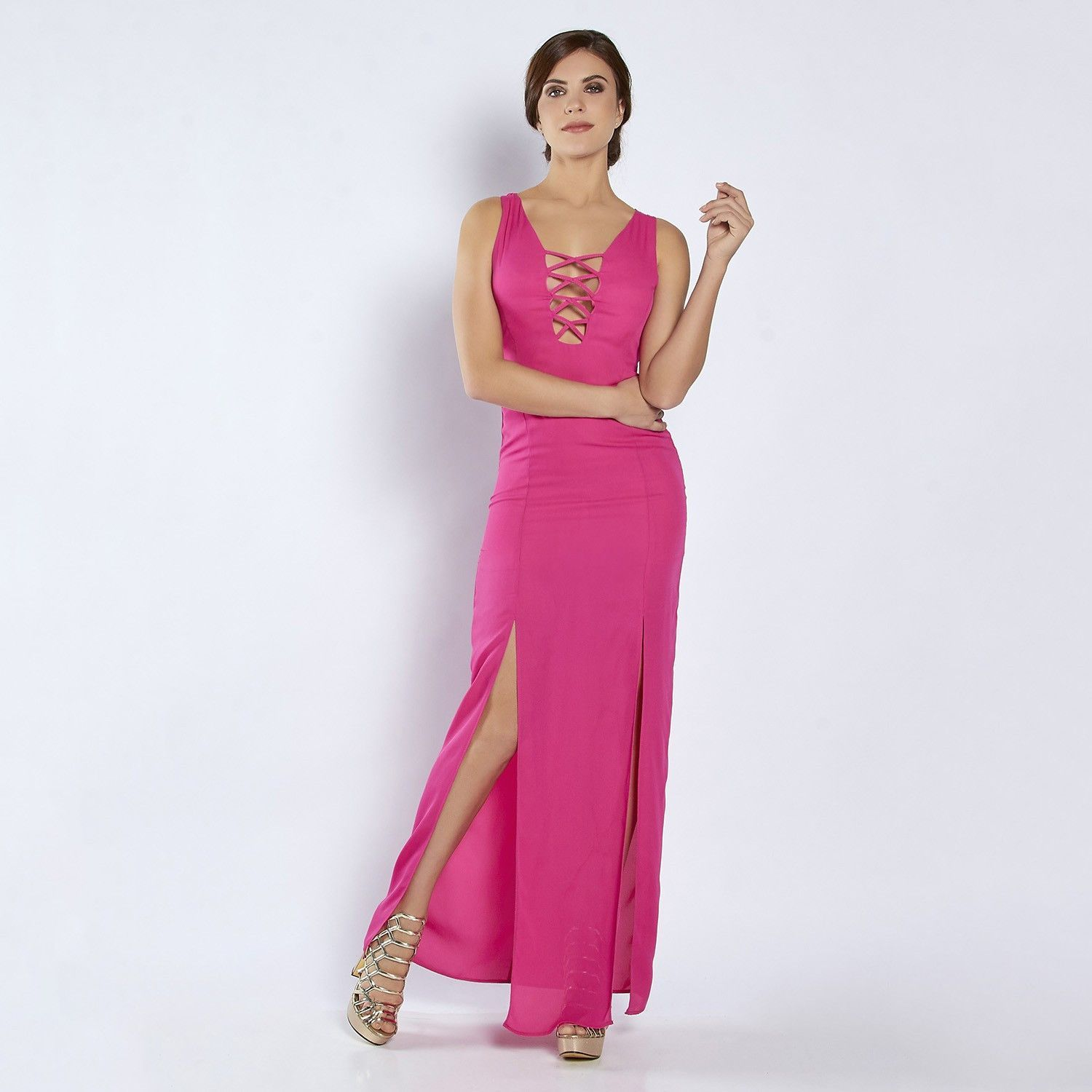 013-109 Vestido Dama Terra - Fiusha | Products | Pinterest | Damas