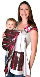 Pink and brown Zolowear sling, too cute!