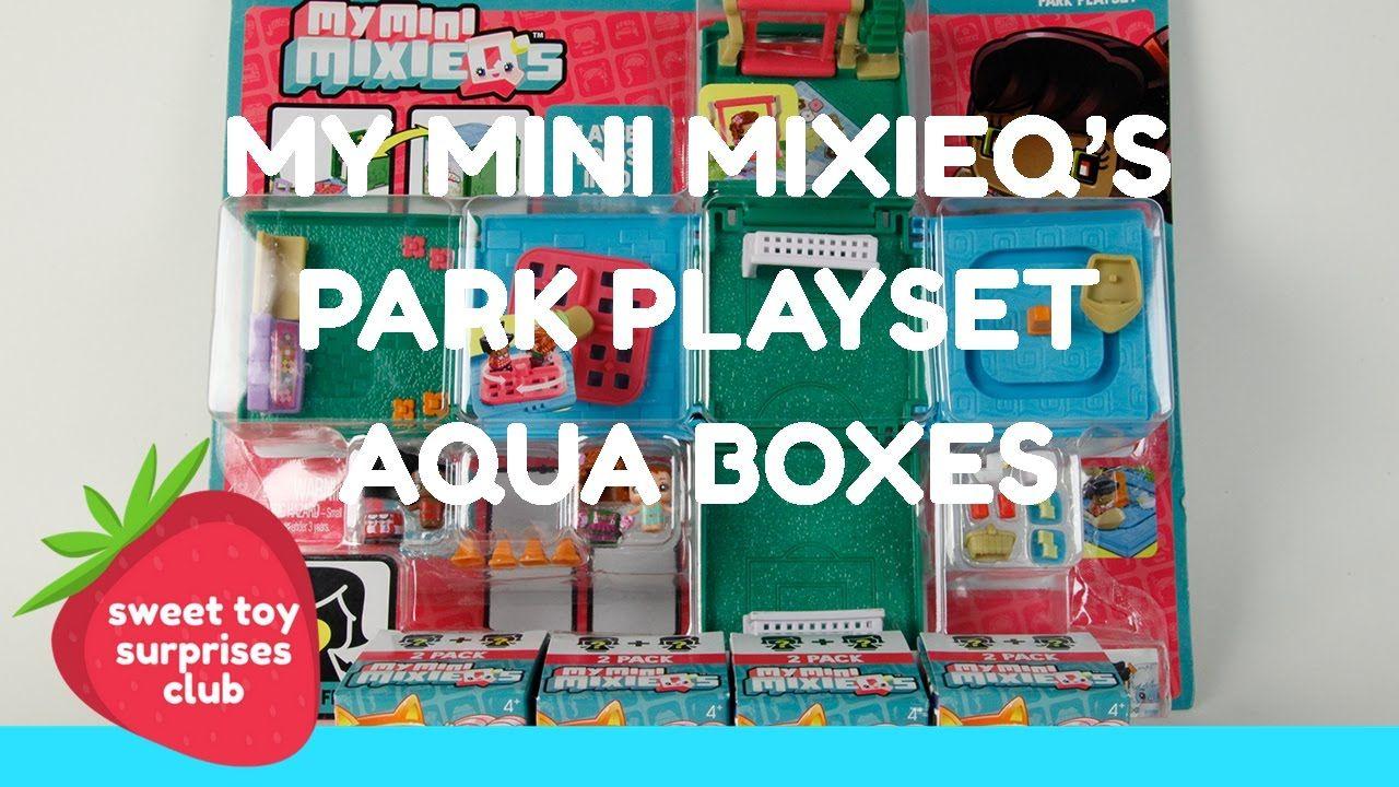 Unboxing My Mini MixieQ s Aqua Boxes & Park Playset