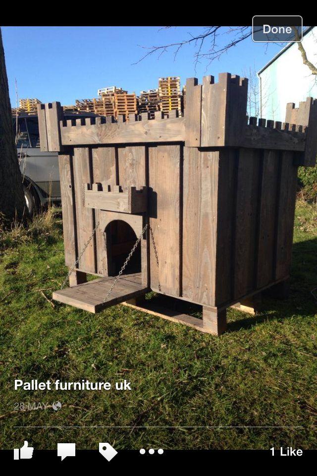 pallet dog box casa para perritos pinterest pallets dog and