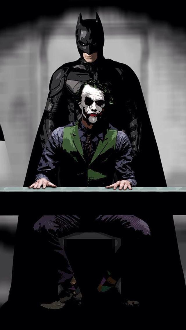 Mauk Wall Batman Joker Wallpaper Android Hd