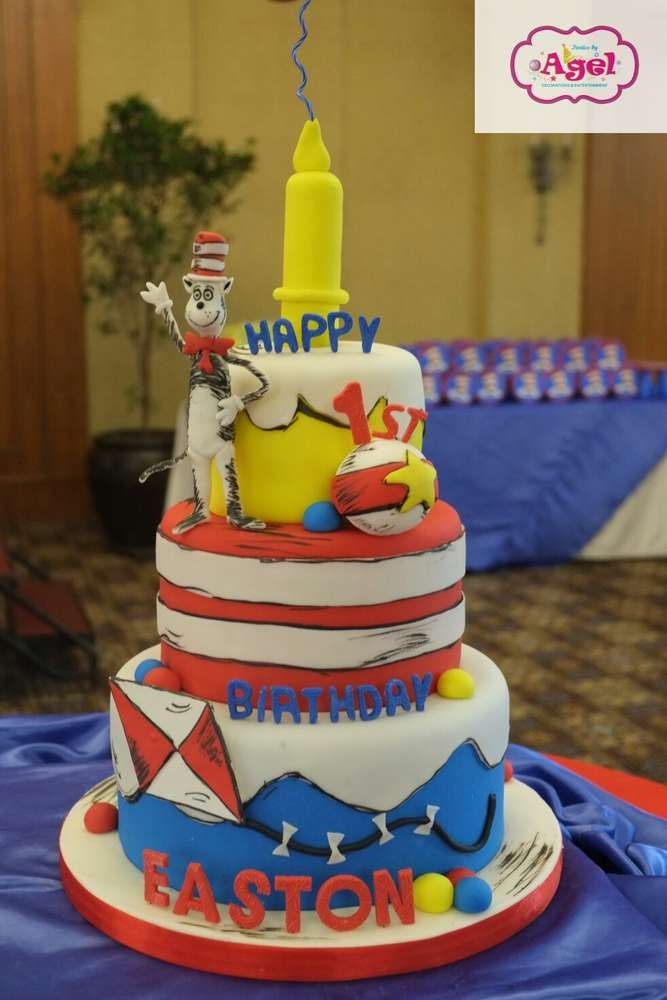 Dr Suess Birthday Party Ideas With Images Dr Seuss Birthday