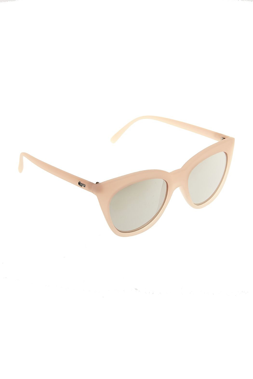b2126b2b3e Isabell Sunglasses by Quay Australia. Pink sunnies with silver mirror  lenses. 100% UV Protection and soft case included. Isabell Pink Sunglasses  by Quay ...