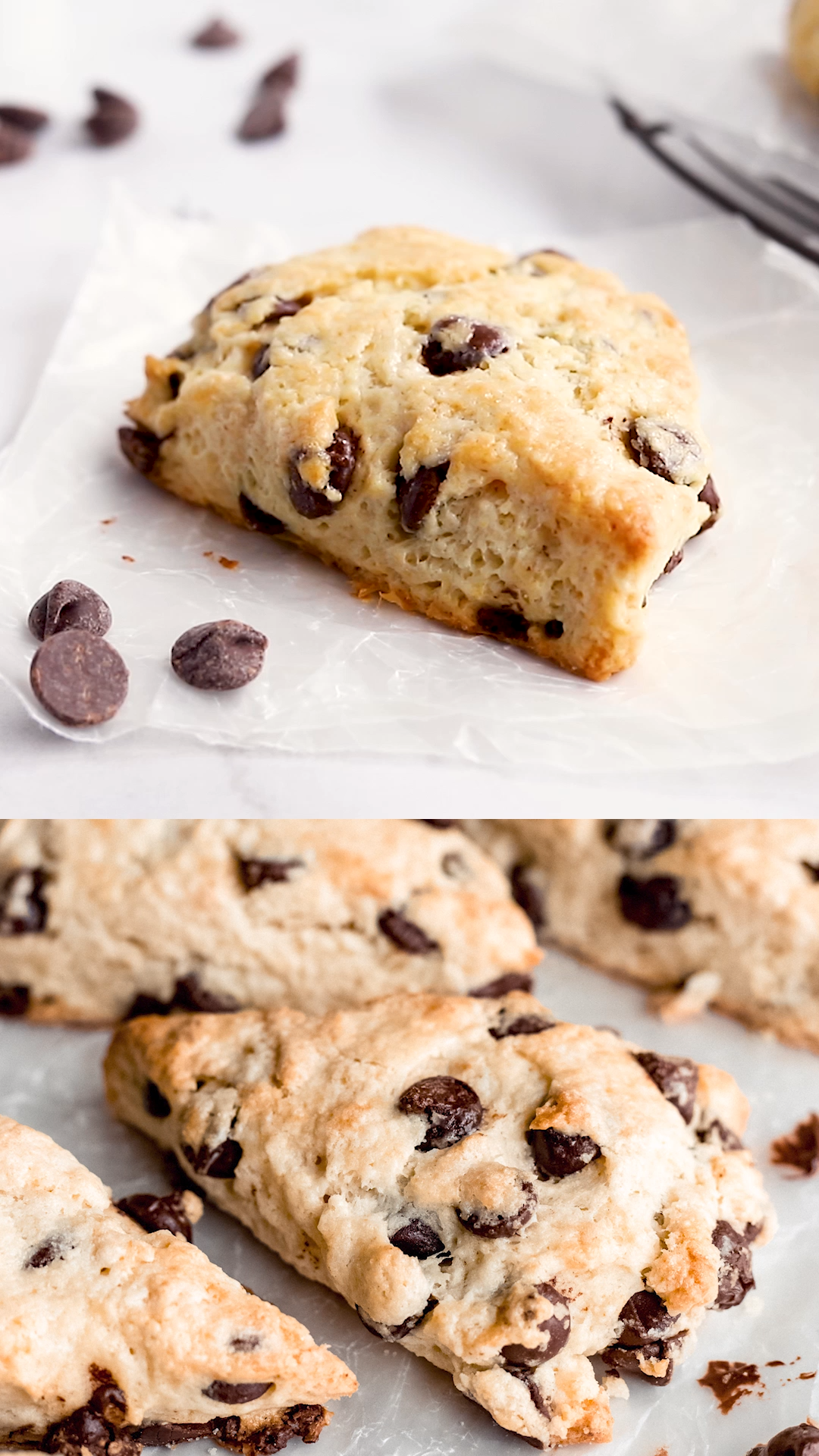 Photo of The Best Chocolate Chip Scones