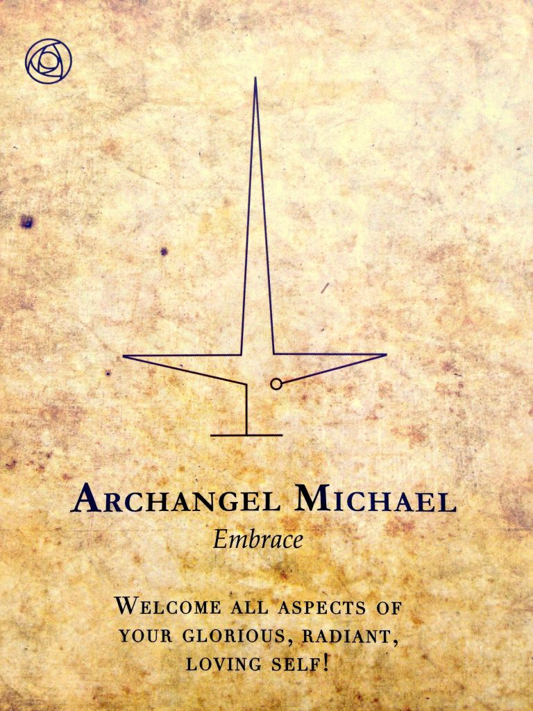 Archangel michael says embrace archangel michael tattoo archangel michael says embrace biocorpaavc Images