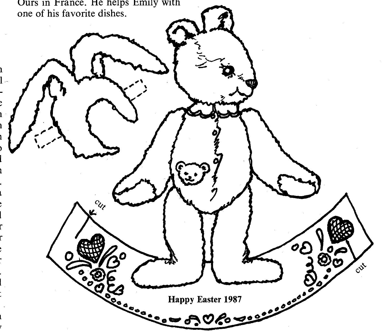 mostly paper dolls a rabbit a day or a bear that wants to be