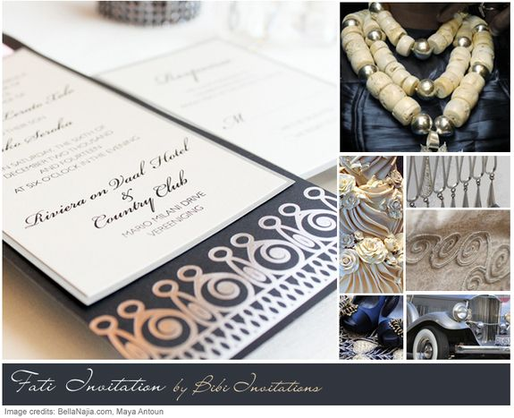 African Wedding Invitation: A Truly Authentic African Inspired